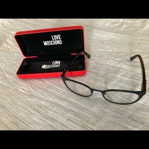 MOSCHINO love Moschino frame reading glasses